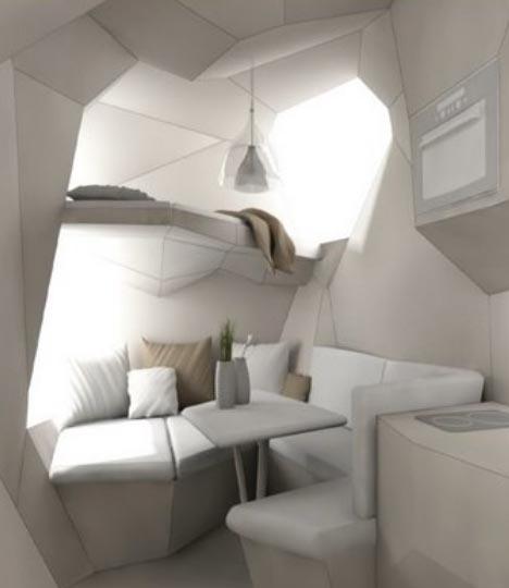 diy mobile futuristic house