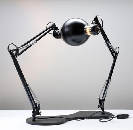 Double take self reflecting surreal table lamp design aloadofball Images