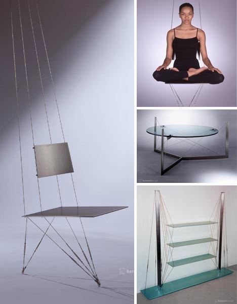 Beau Hanging Wire Furniture Designs