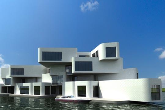 houseboat modern design