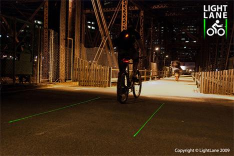 lightlane laser bike lane 2