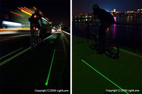 Lightlane Laser Bike Lane