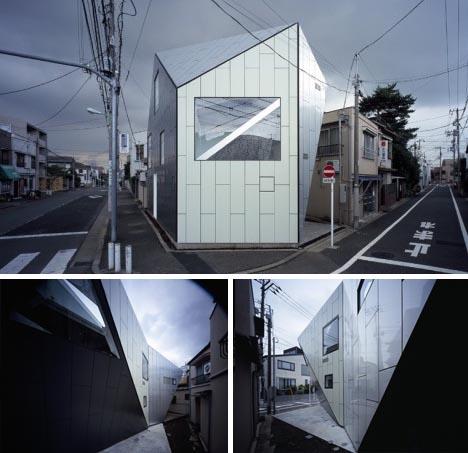 modern minimalist postmodern house