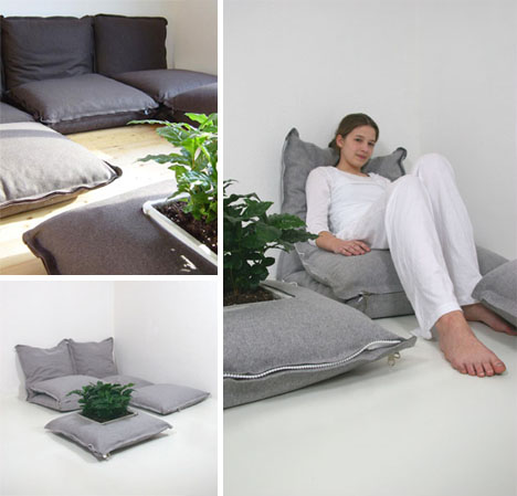 Modular Floor Pillows: Creative Connectable Cushions
