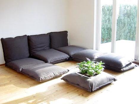 Modular Floor Pillows