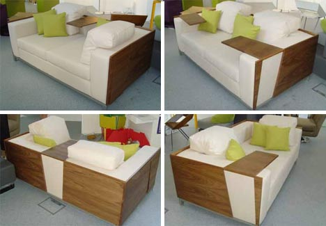 multifunctional converting couch