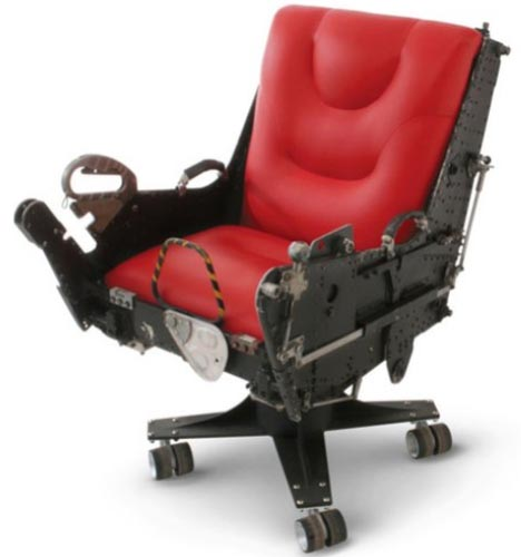 Home Furniture Collection from Recycled Airplane Parts