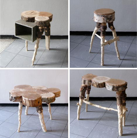 Recycling Pine Trees Into Natural Wood Furniture Products