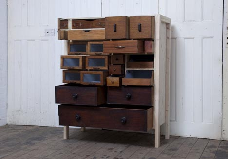salvage recycled wood furniture