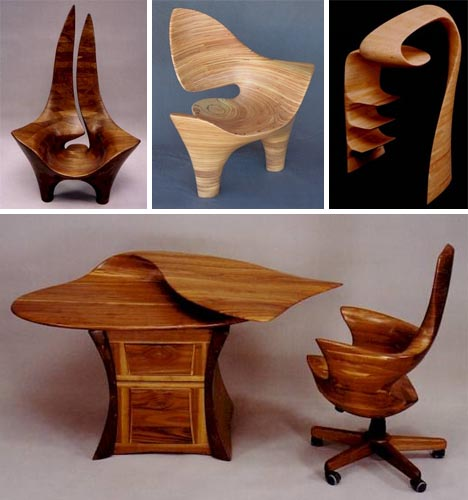 Furniture Furniture: Furniture Sculpted From Solid Wood