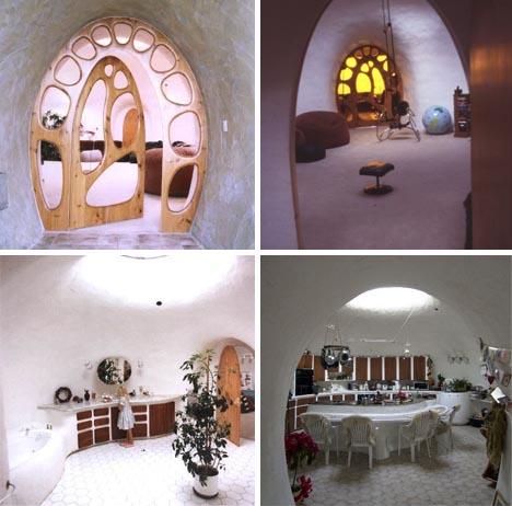 Underground Home Interior Design