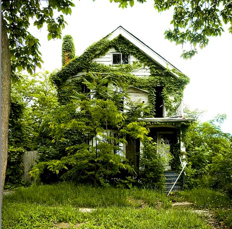 abandoned deserted home