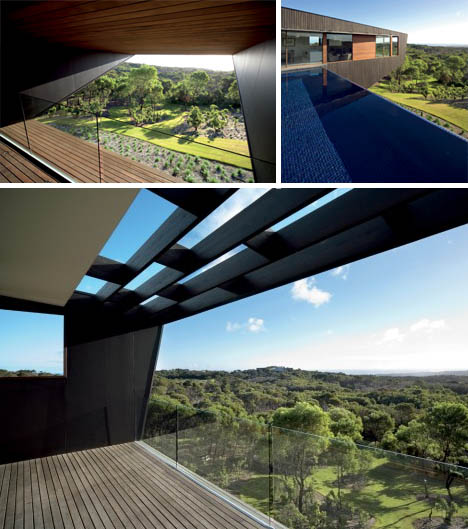 Best Deck Ever: Contemporary Cantilever House Design