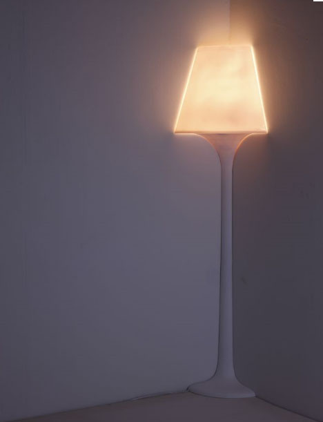 Attractive Corner Lamp Lighting Design