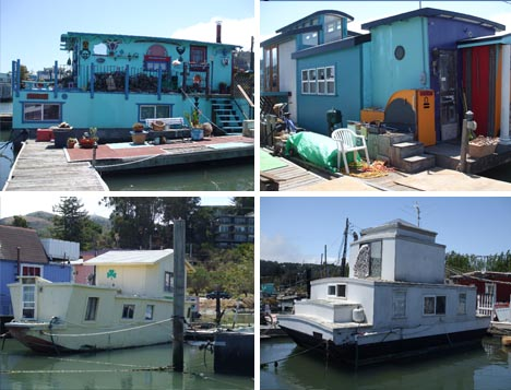 vintage houseboat community slightly used not for sale