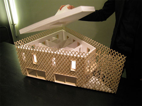 green house architecture model
