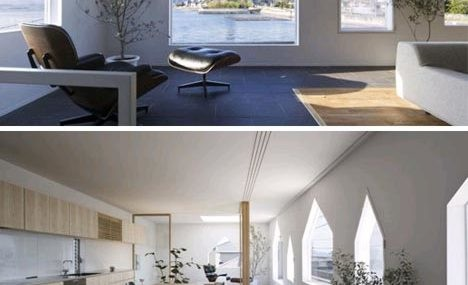 Japanese minimalist house symbolic postmodern home