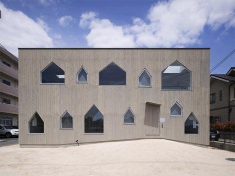 Japanese Minimalist House + Symbolic Postmodern Home =
