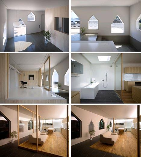 modern minimalist modular interior