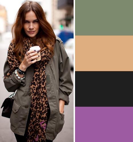 street fashion color palette