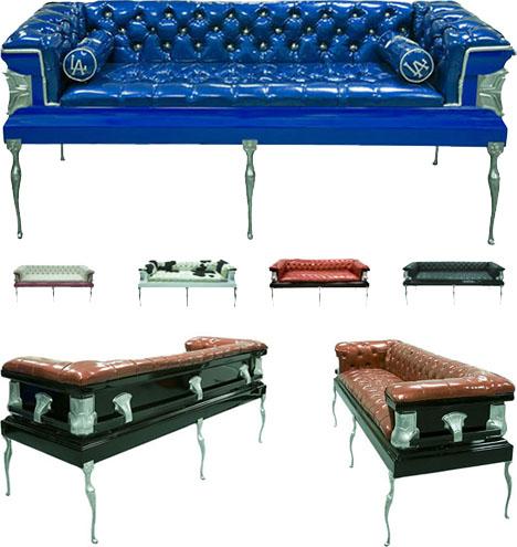 Coffin Couch 10 Coffin Furniture Ideas Caskets Couches To Death Desks