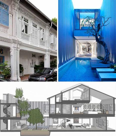 Modern Condo Decor: Small Remodel, Big Ideas: Tiny Townhouse Into Cool Condo