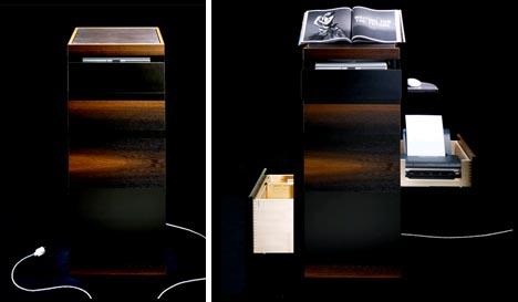 corner compact computer desk