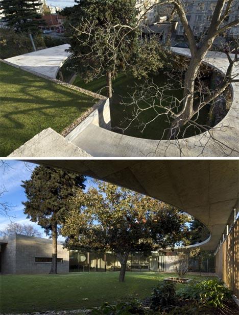 courtyard interior exterior idea