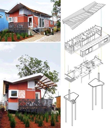 floating house design idea