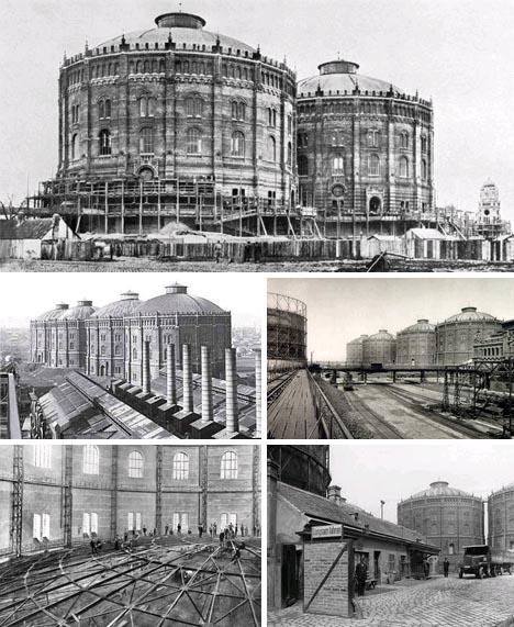 gasometer venice historical photos