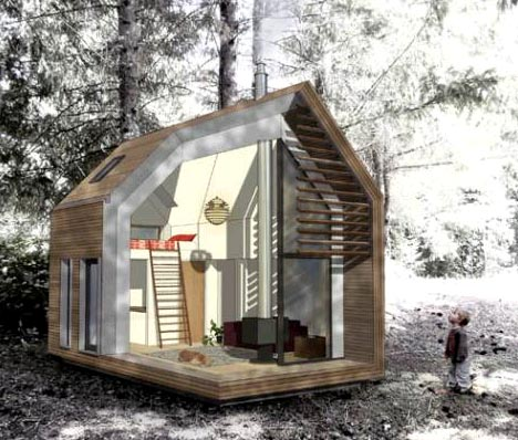 Green Prefab Shed Homes: Small Space Living By Design