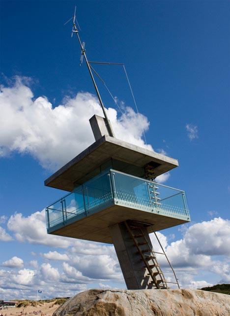 lifeguard cool modern tower