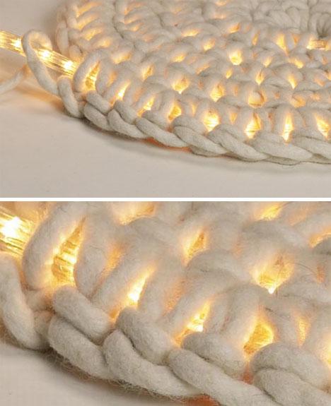 Diy Area Rug Led Floor Lamp Bright White Carpet Light