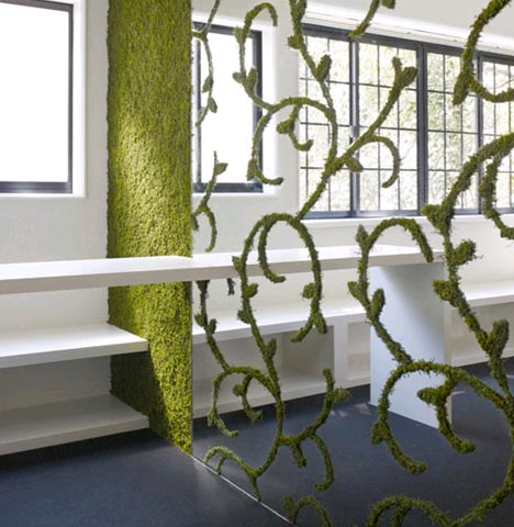 living green room divider