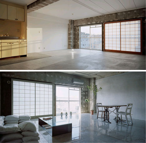 Minimalist Re Model Modern Warehouse Loft Apartment