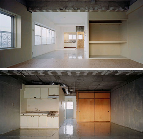 minimalist modern apartment interior