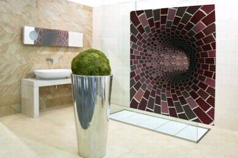mosiac creative tile idea