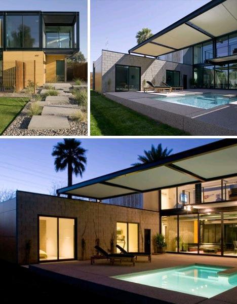 simple modular modern home