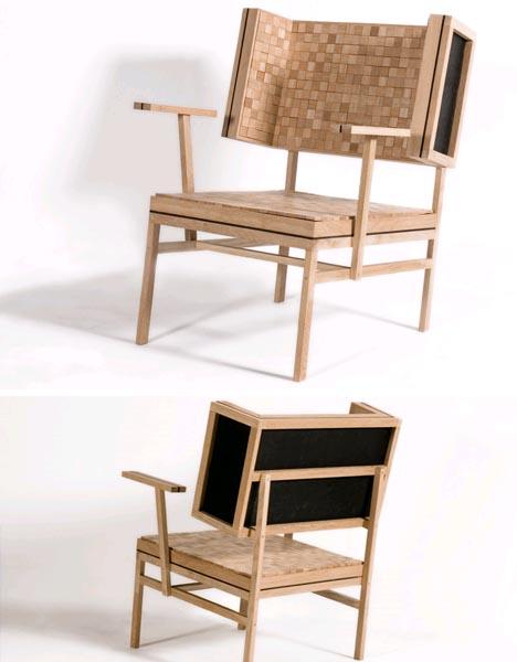 soft hard wood chair idea