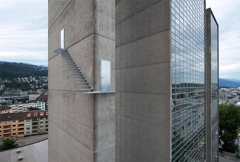 suspended floating sky stairs