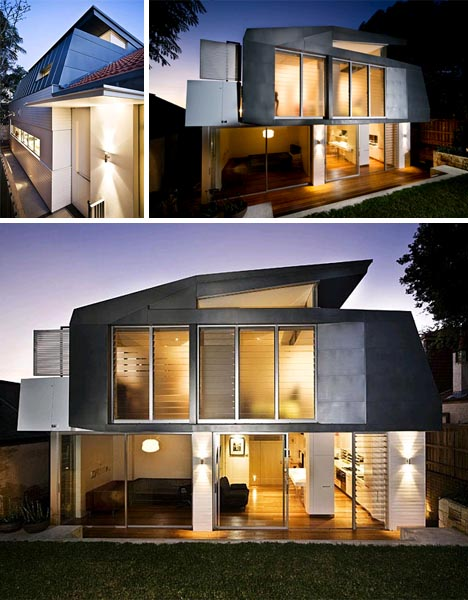 tradition meets modern home