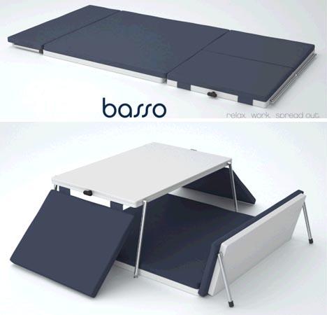 transforming bed desk