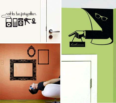 Vinyl Wall Stickers: (Info)Graphic Art & Decor Room Decals