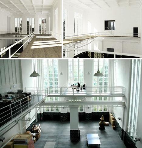 artists modern urban studio space