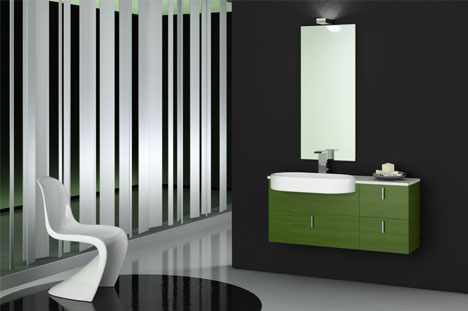 bathroom design color