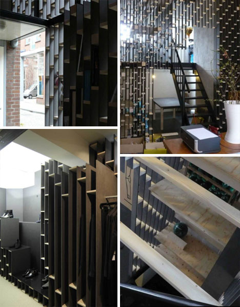 bookcase installation design