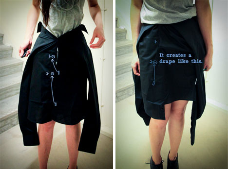 boy girl shirt skirt