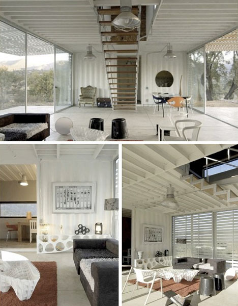 Cargo Container Home Interior