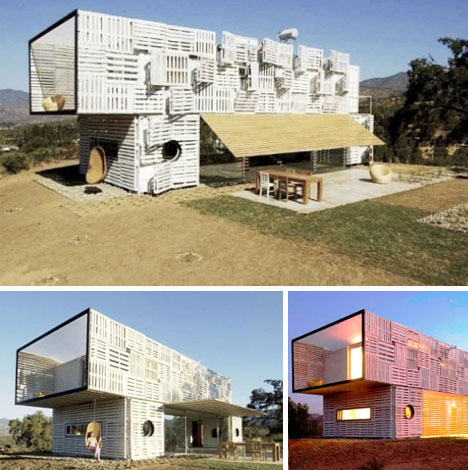 cargo container prefab home