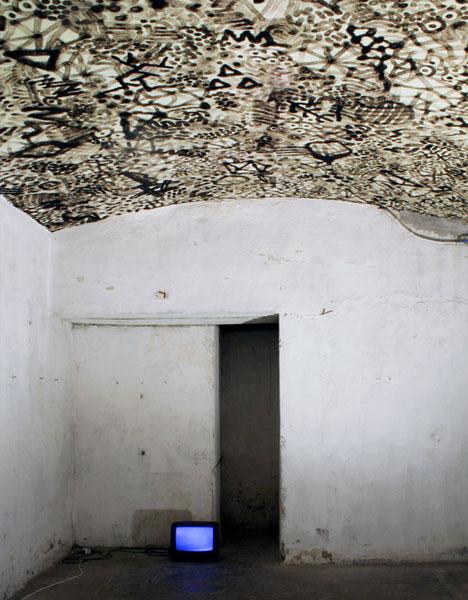 ceiling fire art